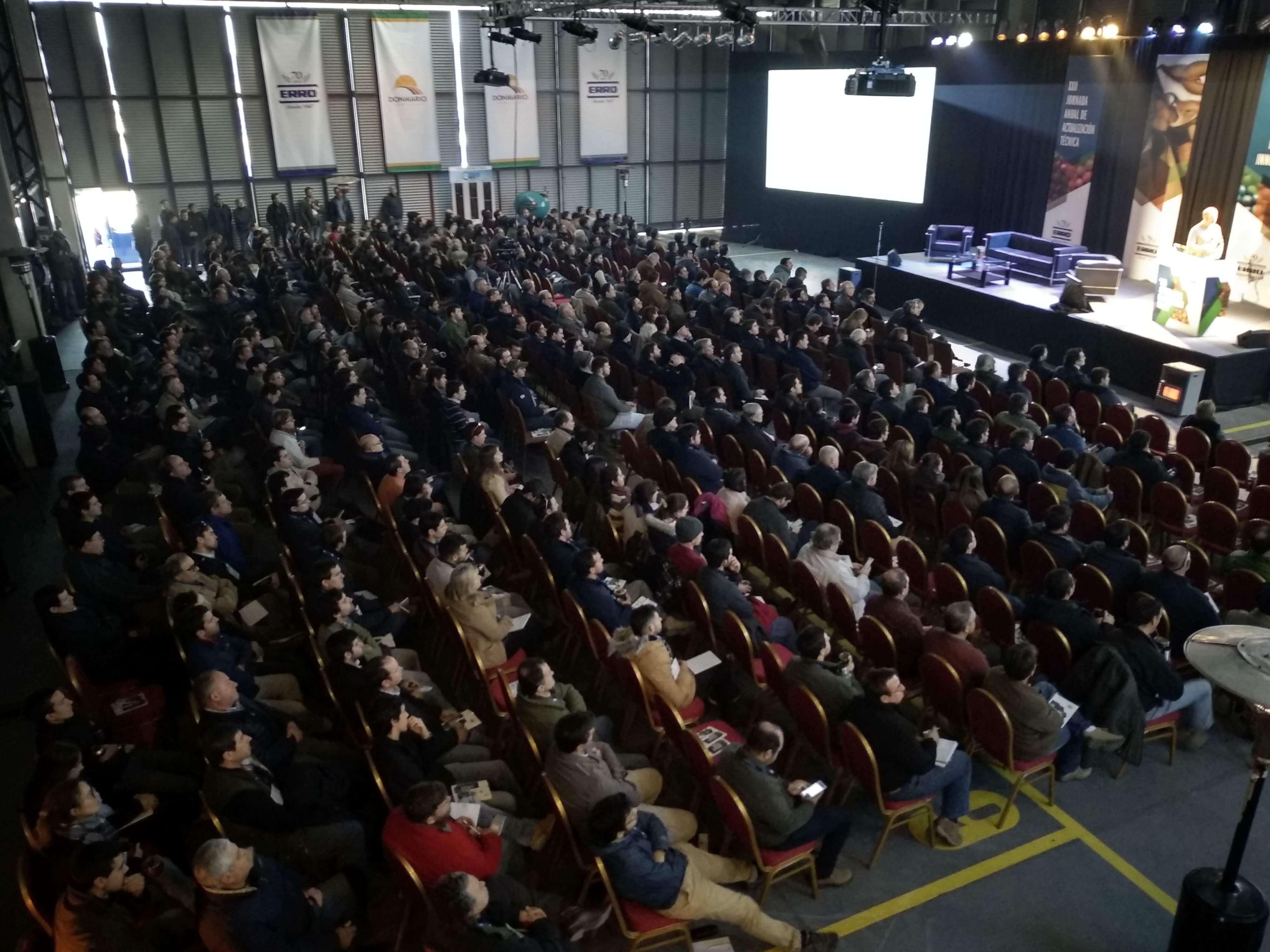 Exitosa Jornada Anual de Erro 2018